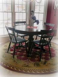 Round Rugs For Under Kitchen Table by Forever Decorating Dining Room Tour U0026 Confession