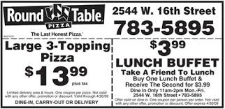 Round Table Pizza Coupons Codes 2016 Office Chairs Garage Doors Coffee Table And Other Home