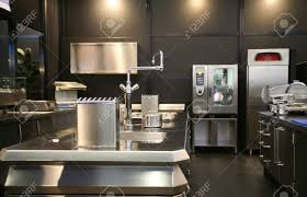 modern restaurant kitchen design