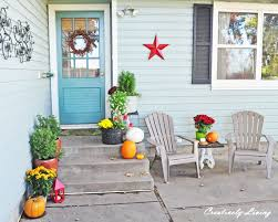 my fall back porch creatively living blog