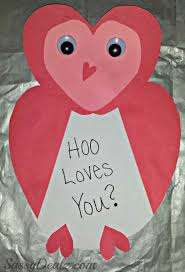 kids valentines day cards owl valentines day card idea for kids crafty morning