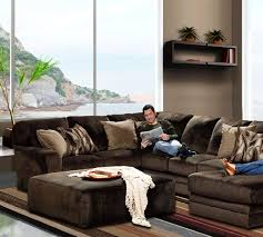 Best Sectional Sofa Brands by Everest 4377 Stationary Sectional Sofas And Sectionals