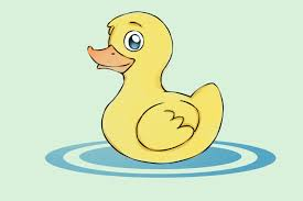 duck drawing for kids kids coloring europe travel guides com