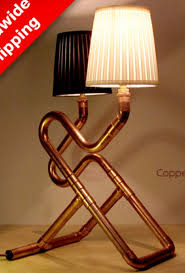 233 best copper pipes lightings images on pinterest pipe lamp