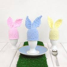 bunny rabbit home decor pastel easter bunny egg cup and cosy by chi chi moi