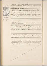 dossier mariage civil tã lã charger mariage pieter mulder tietje hibma le 11 décembre 1924 à