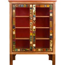 sticks large double door bookcase bcs005 d70951 artistic artisan