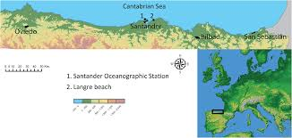 Santander Spain Map by Mg Ca Ratios Measured By Laser Induced Breakdown Spectroscopy