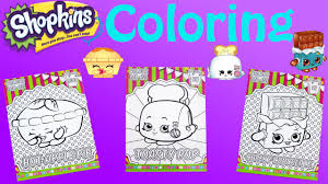 shopkins coloring pages videos shopkins color me in collector cards part 2 youtube
