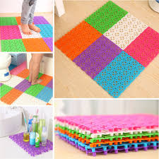compare prices on plastic carpets online shopping buy low price hot plastic multicolor bath mats heart shape bathroom shower mats room kitchen floor rug anti slip