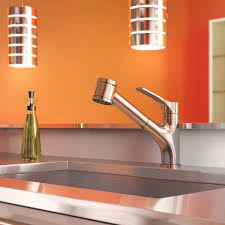 one touch kitchen faucet kitchen sink and faucet touchless kitchen faucet best pull out