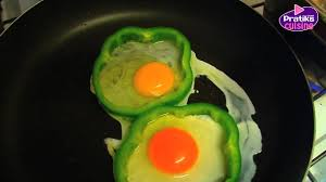 cuisiner poivron plat comment cuisiner des œufs au plat dans une robe de poivron