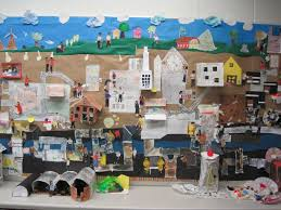 407 best social studies community grade 1 images on pinterest create a mural to explore setting this one was student created for city of
