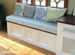 How To Build A Bench Seat For Kitchen Table Kitchen Bench Seating With Storage Plans Full Size Of