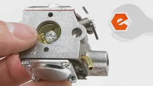 trimmer repair replacing the carburetor ryobi part 791 182875