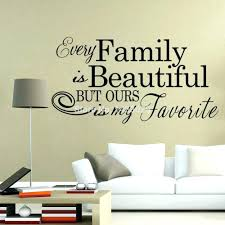 our family wall decal wall arts family wall quotes our family
