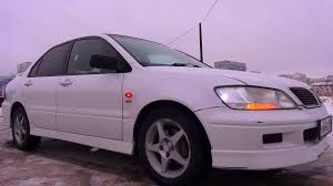 purple mitsubishi lancer 2002 mitsubishi lancer cedia touring start up engine and in