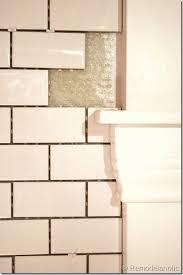 white subway tile backsplash tutorial kitchen is itchin