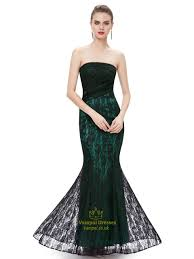 strapless green prom dresses holiday dresses