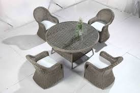 Grey Wicker Patio Furniture by Wicker Patio Furniture Resin Rattan White Grey Cushions