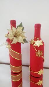 pin by charo fajardo on navidad pinterest decorated bottles