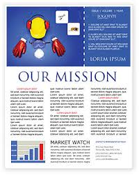 professional safety newsletter template for microsoft word u0026 adobe