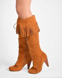 jeffrey campbell topmoss fringe lace up boot in tan suede sale item u2026