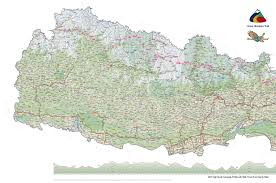 Map Of Nepal And Tibet by Great Himalaya Trail Ght Knowledge Base Maps Trekking Non
