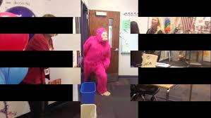 happy birthday telegrams pink gorilla happy birthday telegram