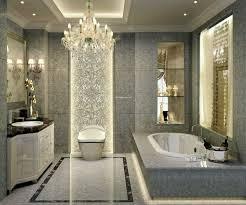 beautiful bathroom with alcove bathtub gorgeous gray textured bathroom