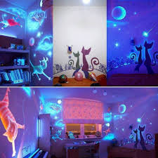 how to use black light paint how to make glow in the dark paint home design garden