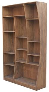 Wood Bookcase With Doors The Seven Drawers Reclaimed Wood Bookcase