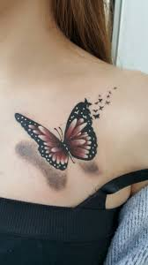 the 25 best 3d butterfly ideas on 3d tattos