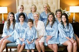 bridesmaids robes cheap silk satin bridesmaid robes blue wedding robes bridesmaid silk
