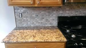 no backsplash in kitchen no grout backsplash kitchen basket weave stone no grout traditional
