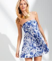 Mediterranean Style Clothing H U0026m Dress In Blue Lyst