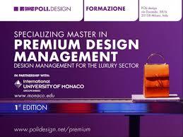 master design management ium la scuola design of politecnico di launch their