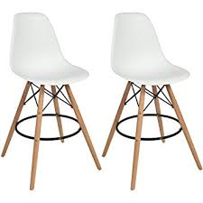 amazon com best choice products eames style set of 2 high chair