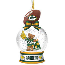 green bay packers snow globe ornaments your 1st one is free