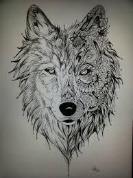 imagenes sorprendentes de lobos dibujo de un lobo a lapiz buscar con google tatoo pinterest