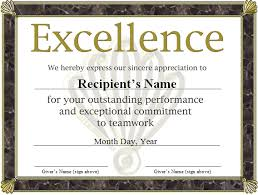 free funny award certificates templates free award certificate