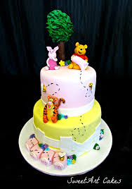 winnie the pooh baby shower cake baby shower cakes from sweetart cake company