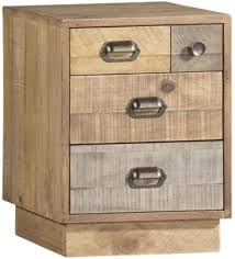 reclaimed pine filing cabinet buy tansley multi coloured reclaimed wood bedside cabinet with