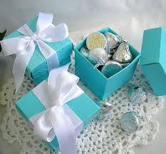 hat party favors 3 pc baby and co centerpiece robin egg blue decor