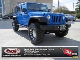 2011 jeep wrangler unlimited price 2011 cosmos blue jeep wrangler unlimited rubicon 4x4 75787741