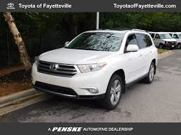 toyota highlander 2012 used 2012 used toyota highlander fwd 4dr v6 limited at toyota of