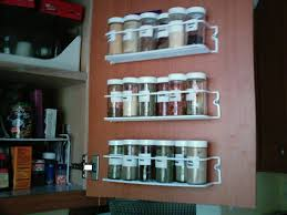 Kitchen Cabinet Spice Organizers by Spice Rack For Cabinet