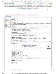 electronics technician resume samples ndt technician resume sample resume for your job application ndt level ii ut technician resume cv format cv sample model