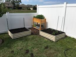 metal raised garden bed kit elevated planter box for growing