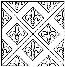 medieval tile pattern clipart etc